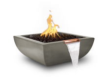 Load image into Gallery viewer, The Outdoor Plus Avalon Concrete Fire & Water Bowl + Free Cover - The Fire Pit Collection
