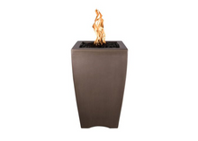 Load image into Gallery viewer, The Outdoor Plus Baston Concrete Fire Pillar + Free Cover - The Fire Pit Collection
