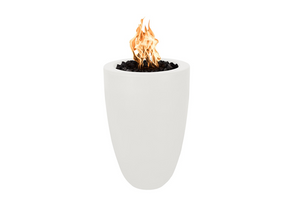The Outdoor Plus Castillo Concrete Fire Pillar + Free Cover - The Fire Pit Collection