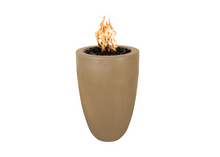 Load image into Gallery viewer, The Outdoor Plus Castillo Concrete Fire Pillar + Free Cover - The Fire Pit Collection