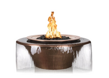Load image into Gallery viewer, The Outdoor Plus Cazo 360° Copper Fire & Water Bowl + Free Cover - The Fire Pit Collection