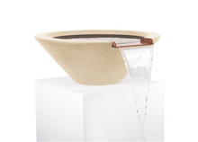 Load image into Gallery viewer, The Outdoor Plus Cazo Concrete Water Bowl + Free Cover - The Fire Pit Collection