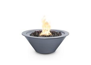 The Outdoor Plus Cazo Powdercoated Steel Fire Bowl + Free Cover - The Fire Pit Collection