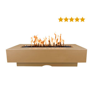 Del Mar Concrete Fire Pit - Free Cover ✓ [The Outdoor Plus]