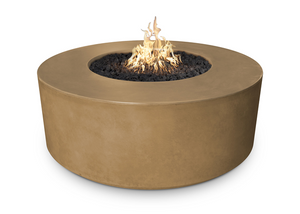 "The Outdoor Plus 54"" Florence Concrete Fire Pit + Free Cover - The Fire Pit Collection"