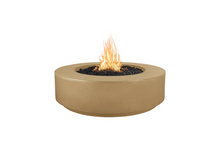 "Load image into Gallery viewer, The Outdoor Plus 42"" Florence Concrete Fire Pit / 12"" Tall+ Free Cover - The Fire Pit Collection"