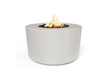 "Load image into Gallery viewer, The Outdoor Plus 42"" Florence Concrete Fire Table / 24"" Tall + Free Cover - The Fire Pit Collection"
