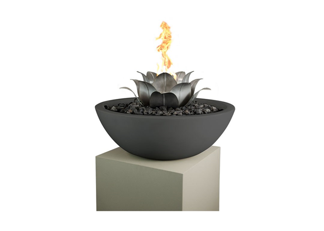 The Outdoor Plus Lotus Flower - The Fire Pit Collection