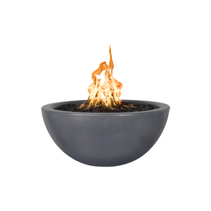 The Outdoor Plus Luna Concrete Fire Pit + Free Cover - The Fire Pit Collection