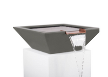 Load image into Gallery viewer, The Outdoor Plus Maya Concrete Water Bowl + Free Cover - The Fire Pit Collection