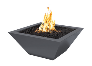 The Outdoor Plus Maya Powder Coated Fire Pit + Free Cover - The Fire Pit Collection