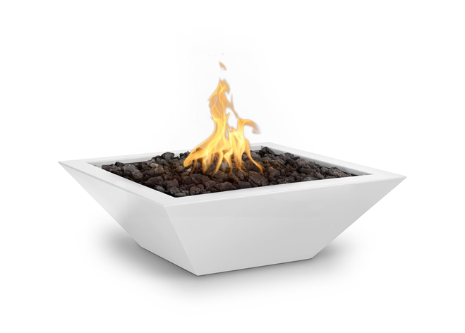 The Outdoor Plus Maya Powdercoated Steel Fire Bowl + Free Cover - The Fire Pit Collection