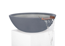 Load image into Gallery viewer, The Outdoor Plus Sedona Concrete Water Bowl + Free Cover - The Fire Pit Collection