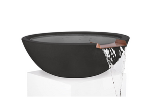 The Outdoor Plus Sedona Concrete Water Bowl + Free Cover - The Fire Pit Collection