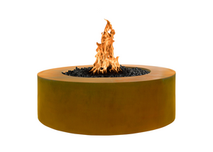 "The Outdoor Plus Unity Steel Fire Pit - 24"" Tall + Free Cover - The Fire Pit Collection"