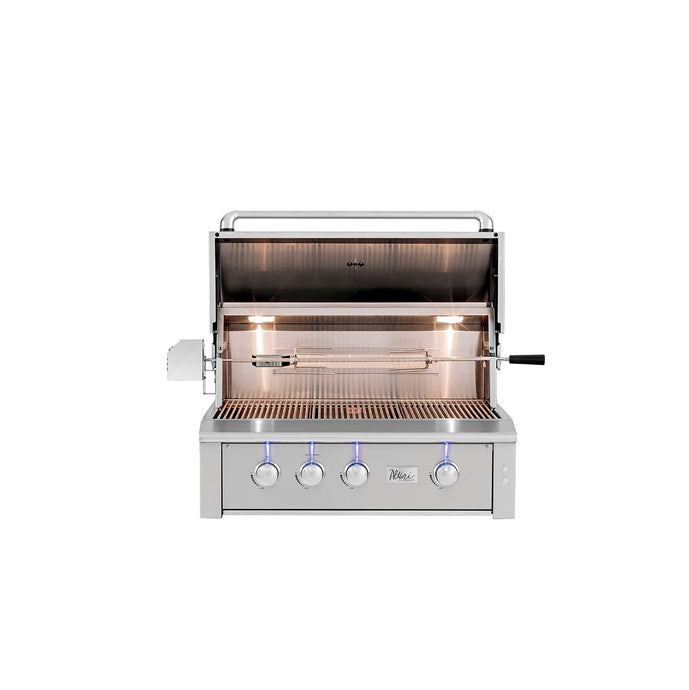 Alturi Built-In Grill Red Brass Series 36