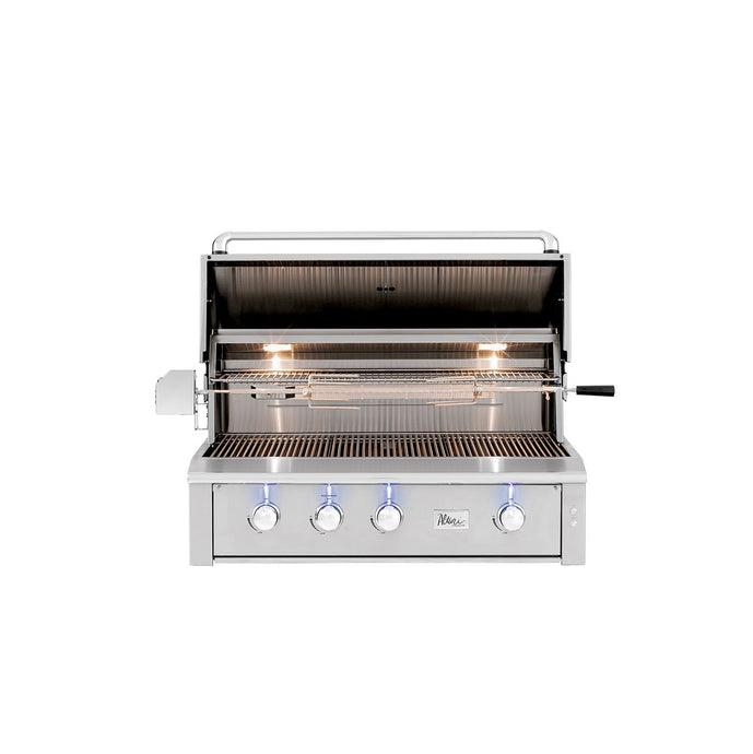Alturi Built-In Grill Red Brass Series 42