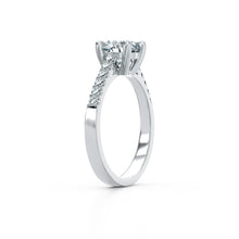 Load image into Gallery viewer, [Premium Quality Unique Engagement Rings Online]-Princess Gem