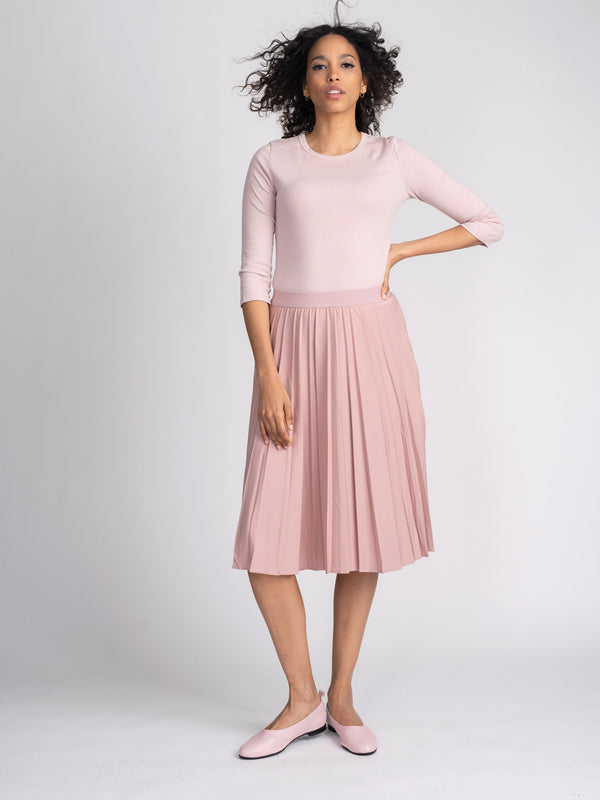 PLEATED SKIRT SHORT-SUMMER COLLECTION