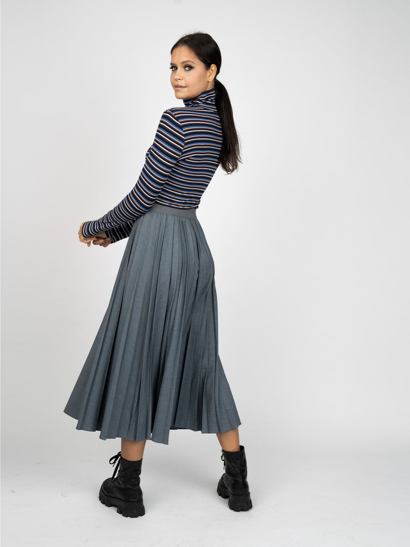 PLEATED SKIRT - LONG-Fame on Central