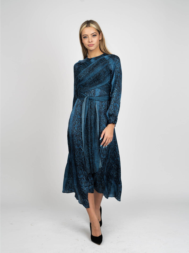 WRAP DRESS-Fame on Central