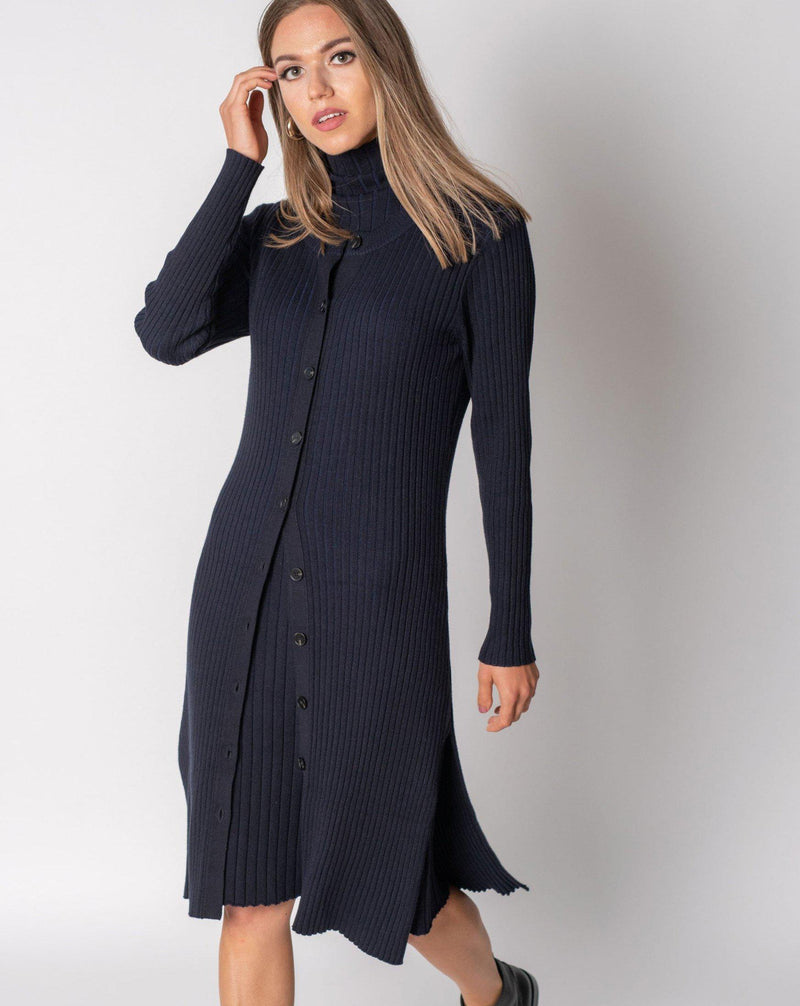 WIDE RIB CARDIGAN-Fame on Central