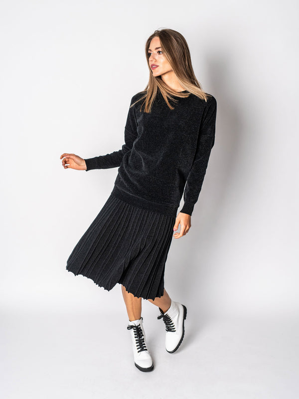 CHENILLE SWEATER- 70% OFF!-Fame on Central