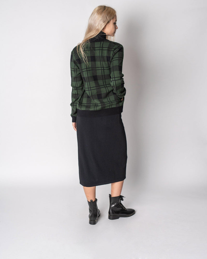 STRAIGHT KNIT SKIRT 25""