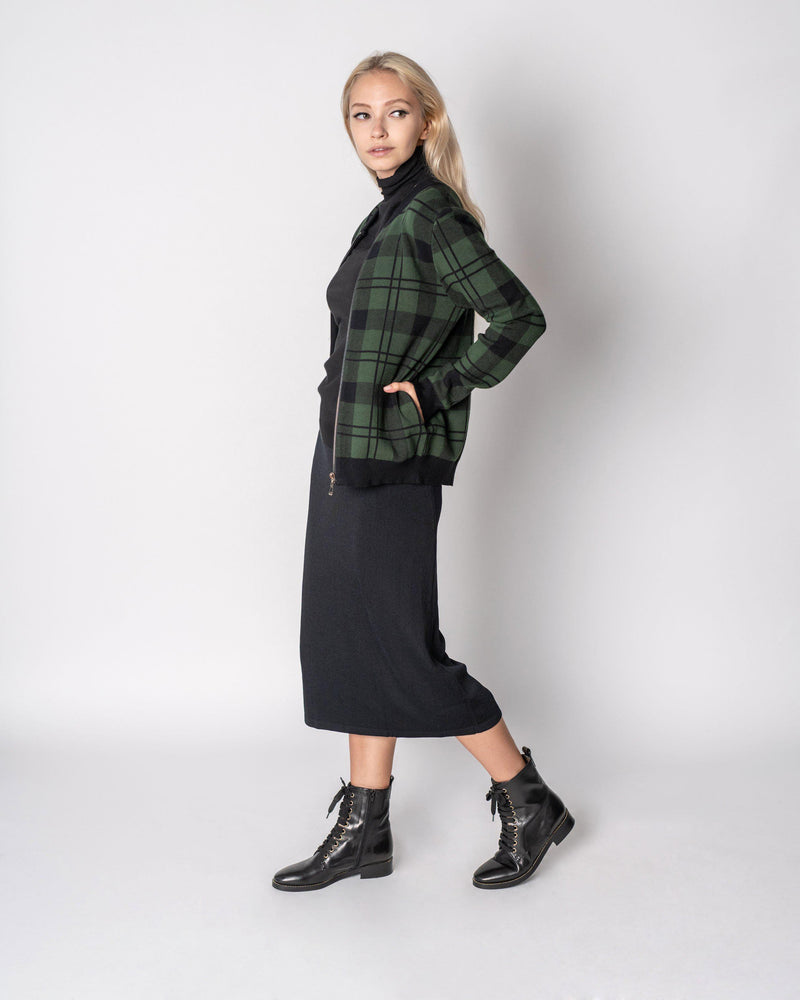 "STRAIGHT KNIT SKIRT 27""-Fame on Central"