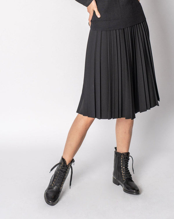 PLEATED SKIRT - SHORT