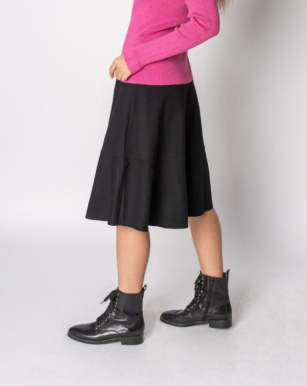 "TIER PONTE SKIRT 27""-Fame on Central"