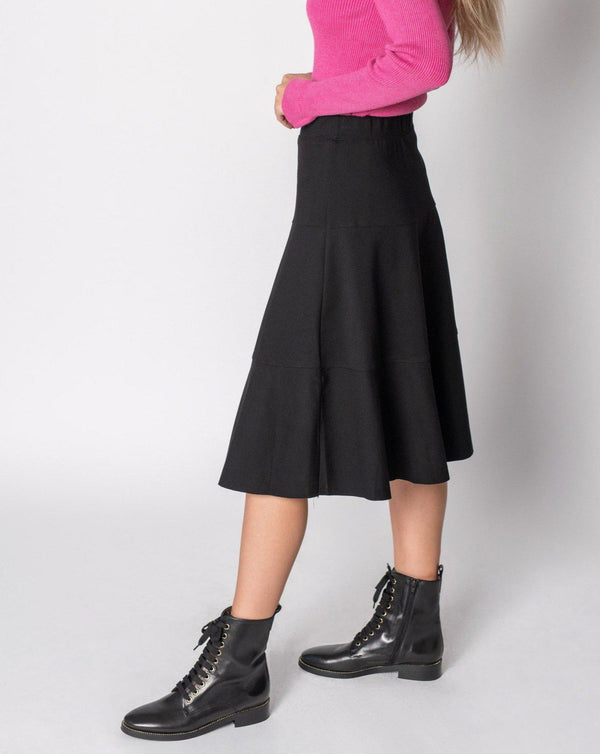 "TIER PONTE SKIRT 23""-Fame on Central"