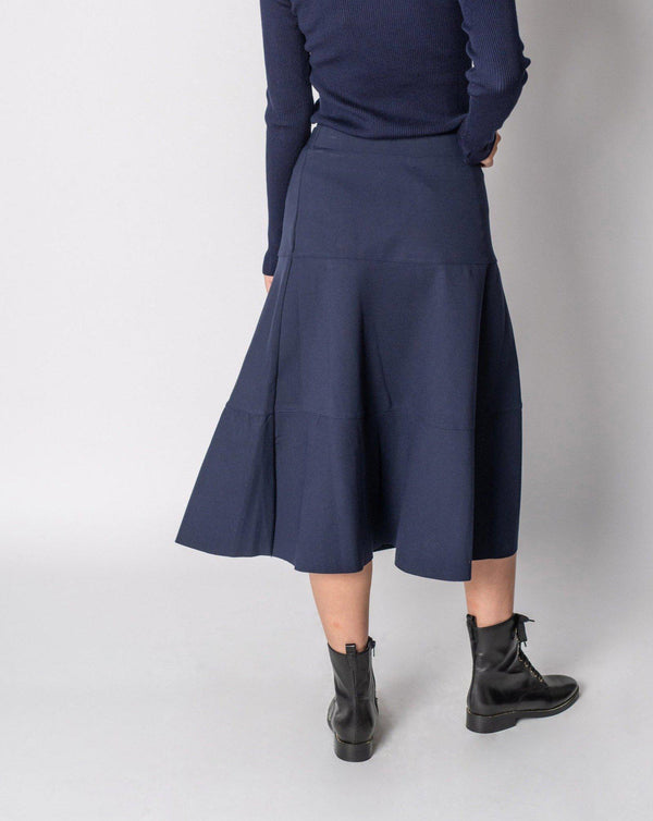 "TIER PONTE SKIRT 29""-Fame on Central"