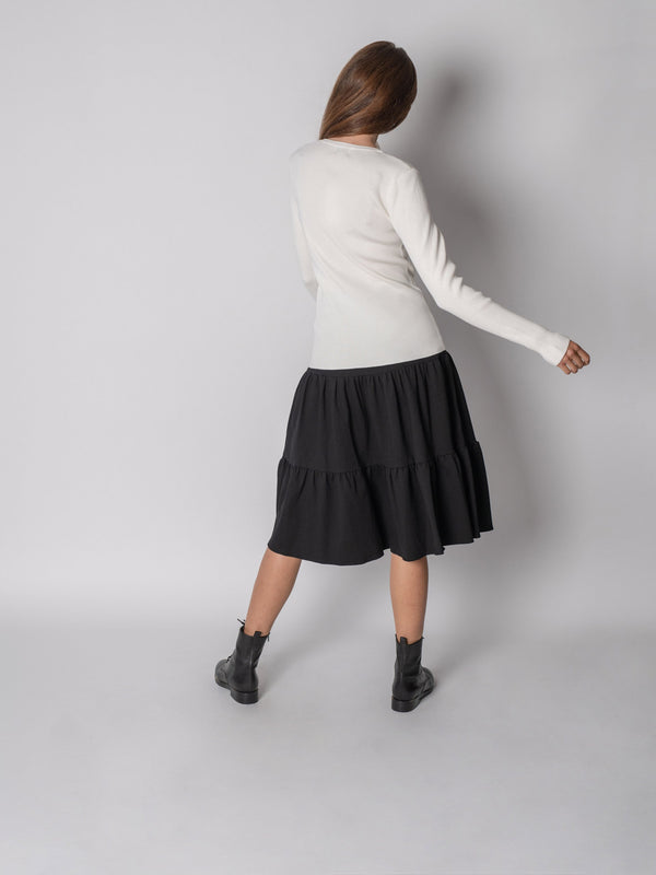 BASIC PEASANT SKIRT-Fame on Central