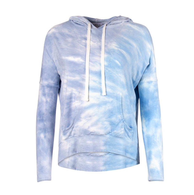 TIE-DYE HOODIE TEE-Fame on Central