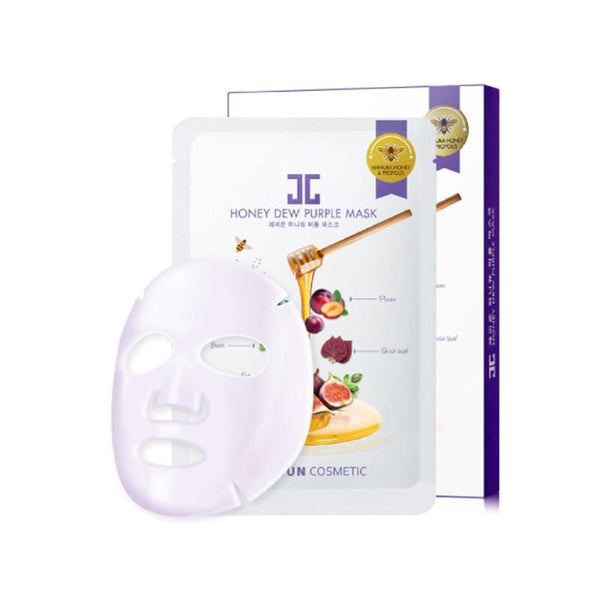 Jayjun Hony Dew Purple Mask - - 5Pcs