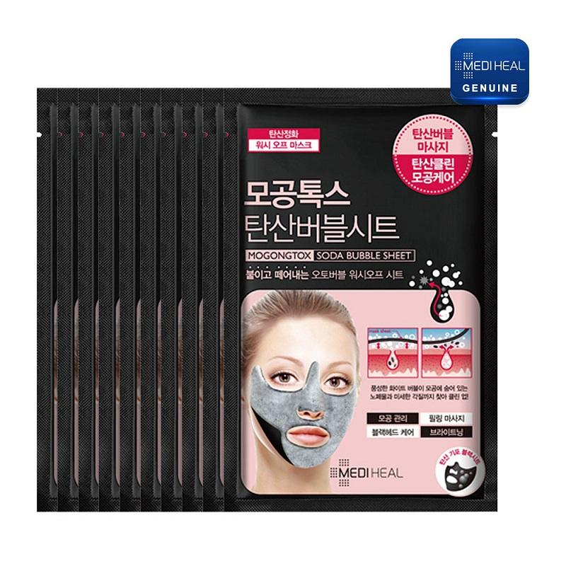 Mediheal Mask Pore Tox Soda Bubble 10 Sheet