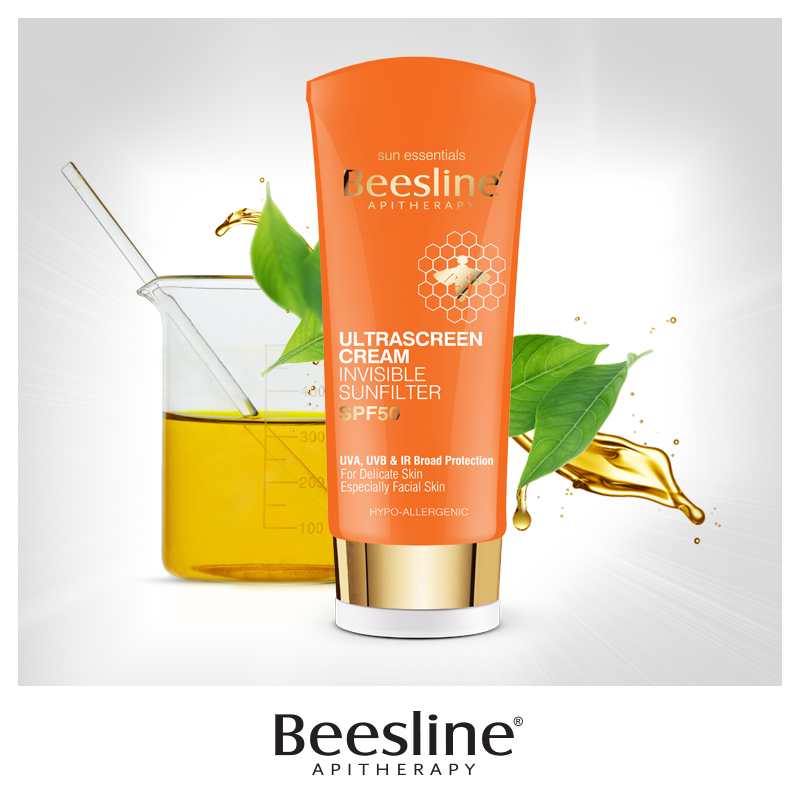 Beesline Ultrascreen Cream Invisible Sunfilter Spf 50