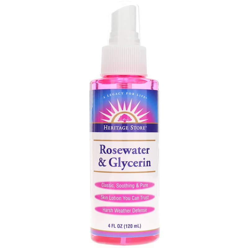 Heritage Store Rosewater &Glycerin 118 Ml