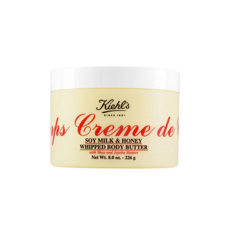 Kiehl'S Creme De Corps Soy Milk & Honey Whipped Body Butter – 226G