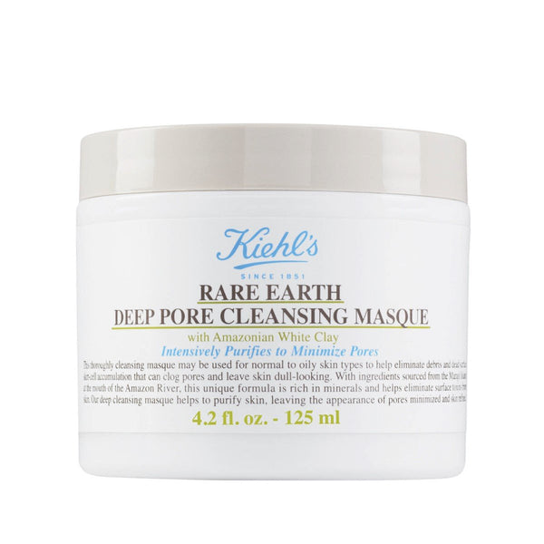 Kiehl'S Rare Earth Deep Pore Cleansing Mask – 125Ml
