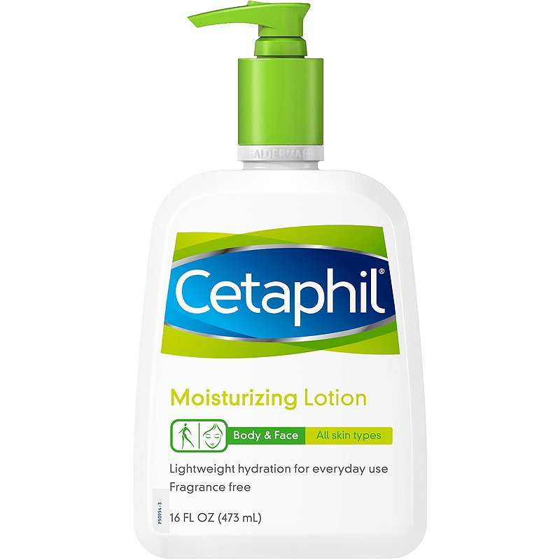 Cetaphil Moisturizing Lotion for All Skin Types 473 ml
