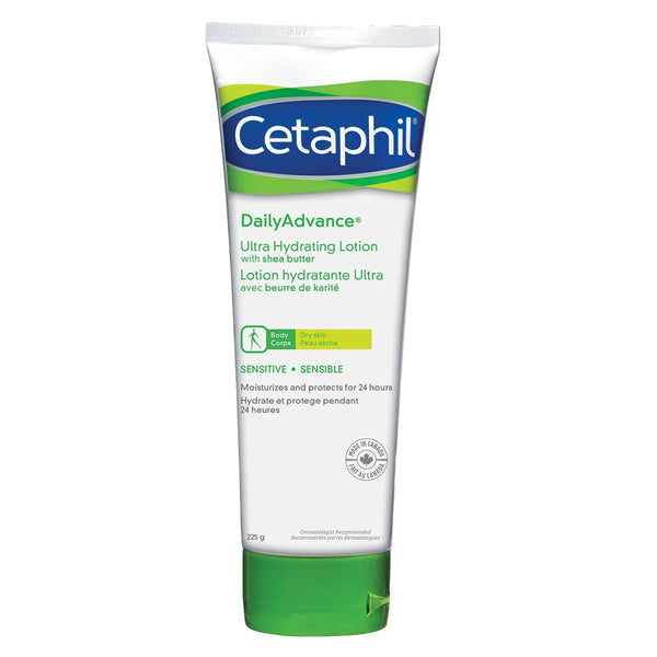 Cetaphil DailyAdvance Ultra Hydrating Lotion with Shea Butter, 225g