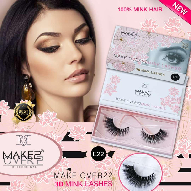 Make Over22 Eyelashes 22 degrees E22