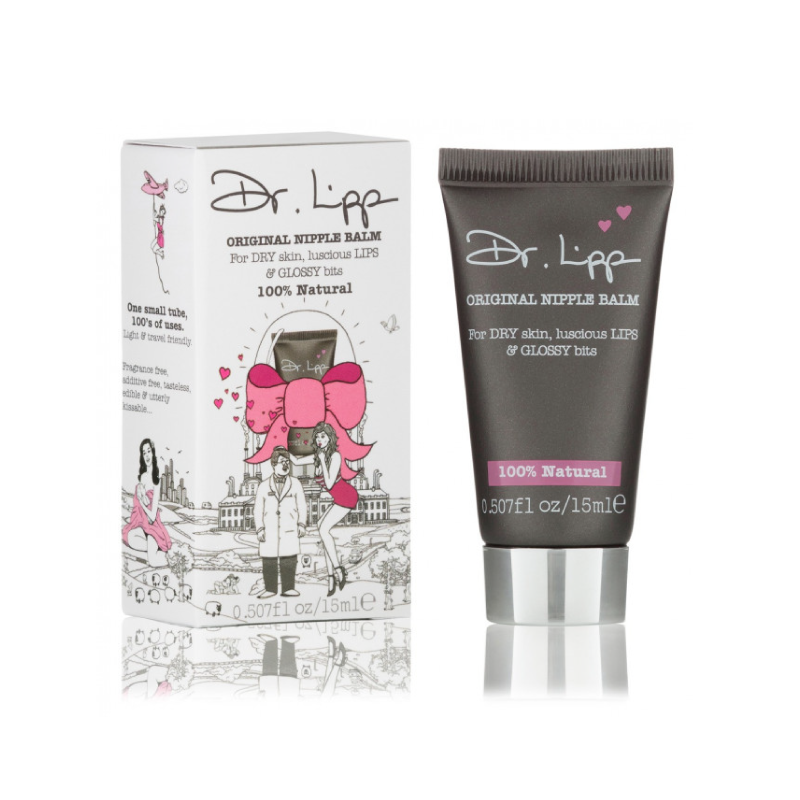 Dr. Lipp Original Nipple Balm For Dry Skin, Luscious Lips& Glossy Bits – 15Ml