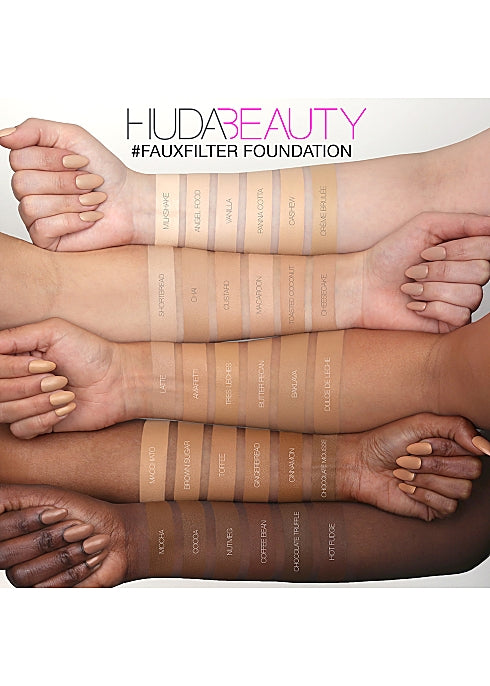 HUDA BEAUTY  FauxFilter Foundation LATTE 300N - 35ml