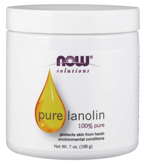 Now Solutions, Pure Lanolin, 7 oz (198 g)