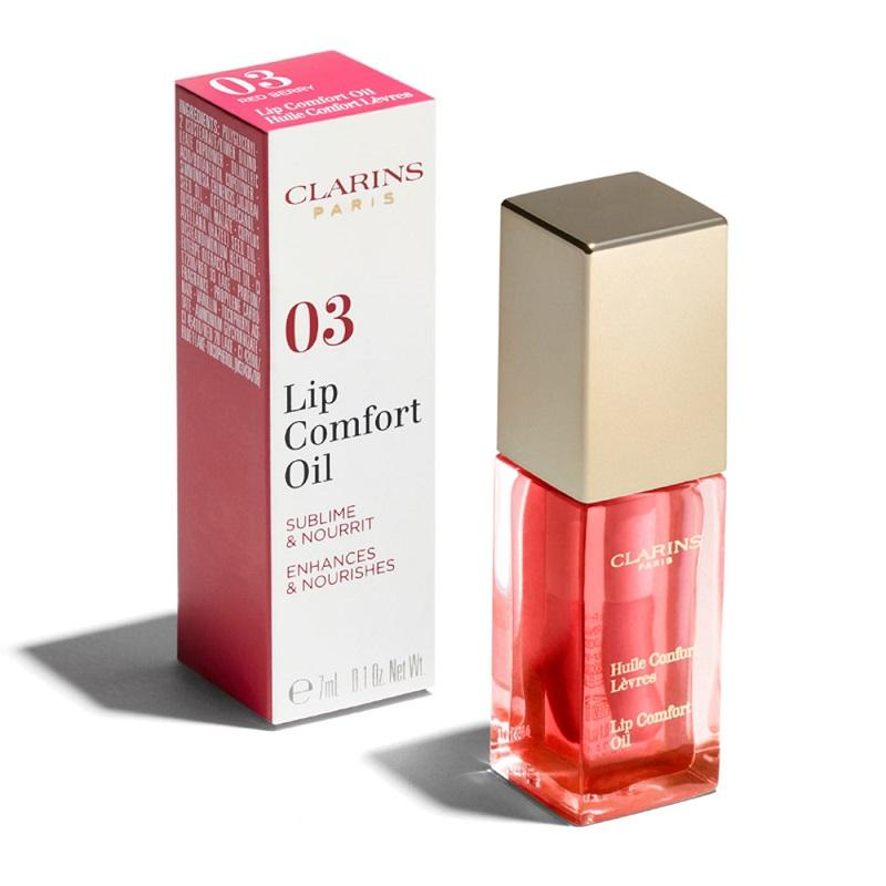 Clarins Comfort Lip Oil - 03 Red Berry