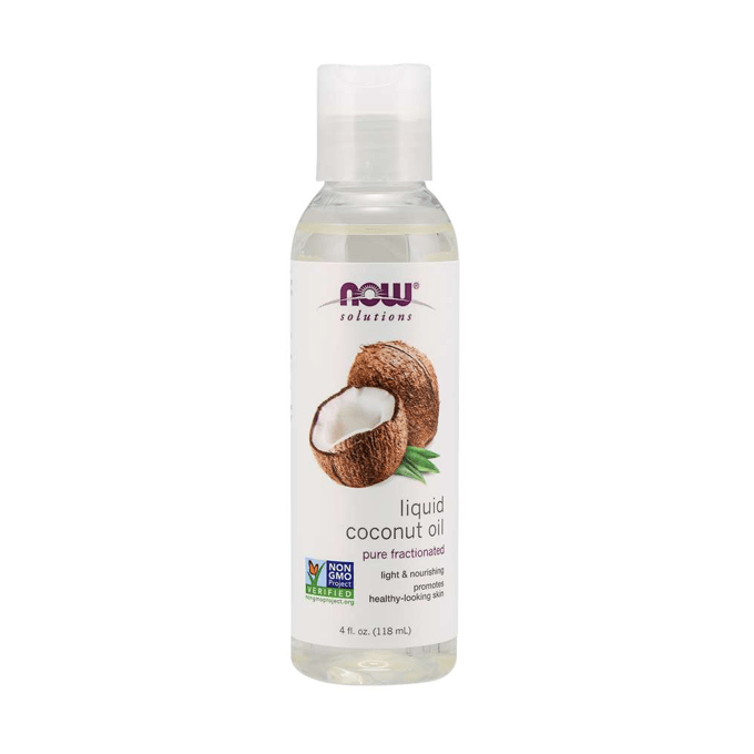 Now Solutions Liquid Coconut Oil - 118 ml