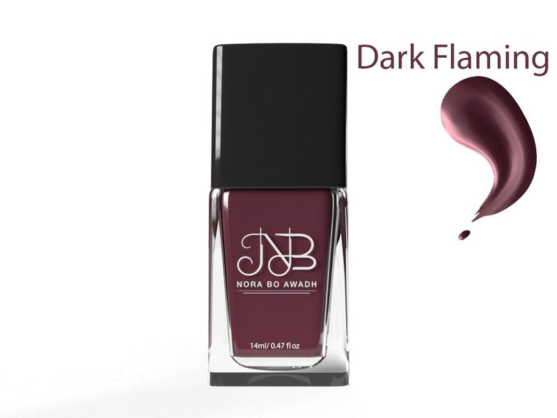 NAIL POLISH - Nora bu awadh - dark flaming